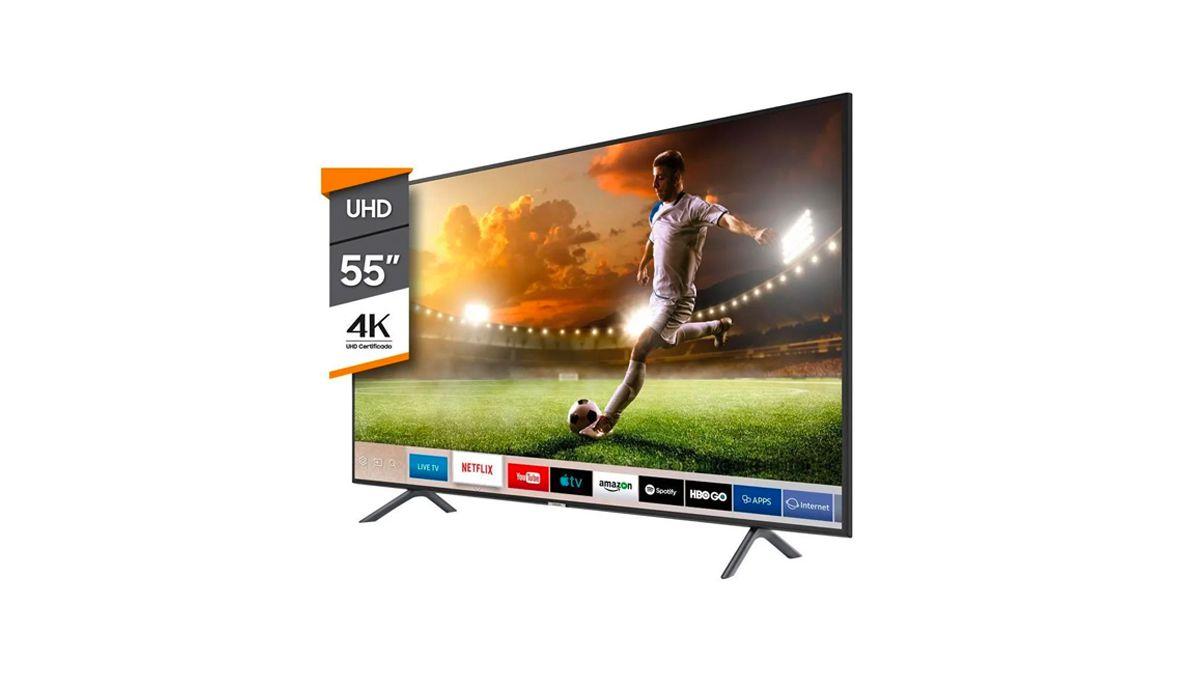 Smart TV 55' UN55NU7100GCZB