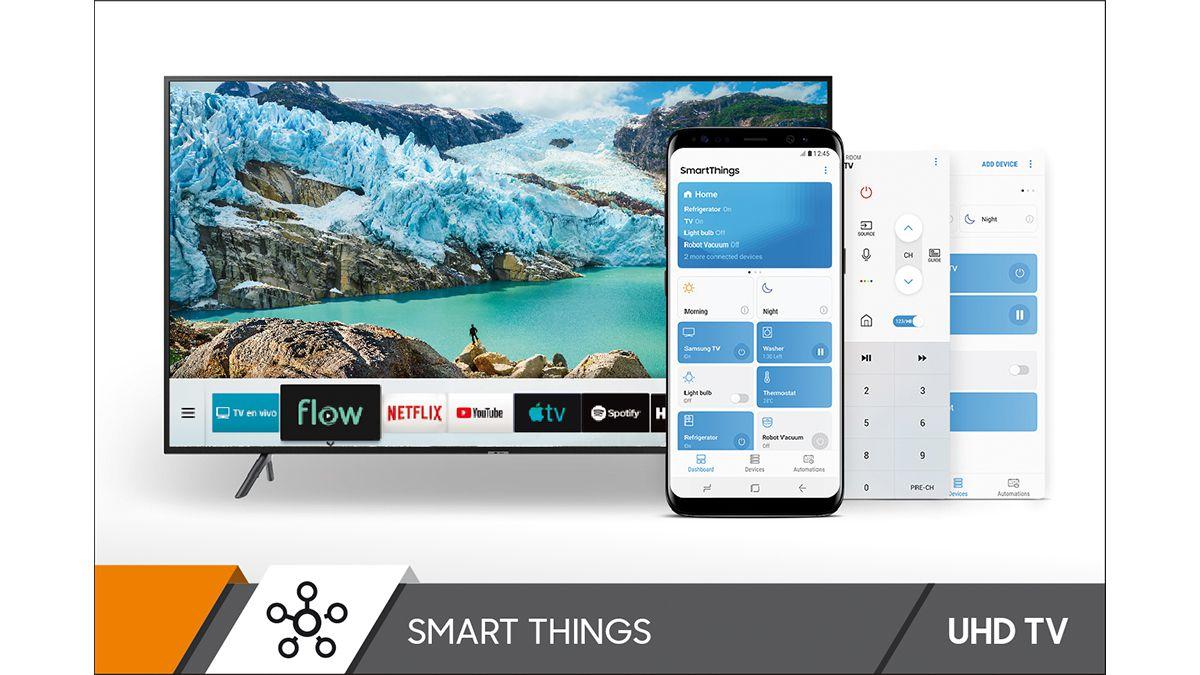 Smart TV 50' UN50RU7100GCZB